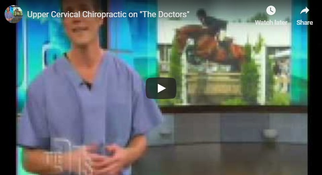 A thumnail of doctor explaining cervival chiropractic on TV